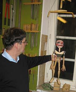 Besuch beim Profi –  Düsseldorfer Marionettentheater live (903)