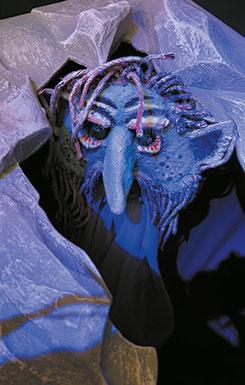 Guck' nicht so blöd! – Kopfgestaltung für Theaterpuppen (014)
